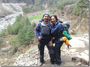 Casal Mango Acampamento Base do Everest