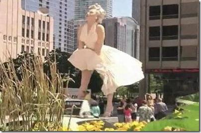 marilyn monroe - statuie