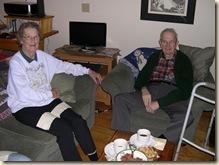 Jerald and Tina visit
