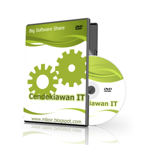 Cover CD DVD Cendekiawan IT