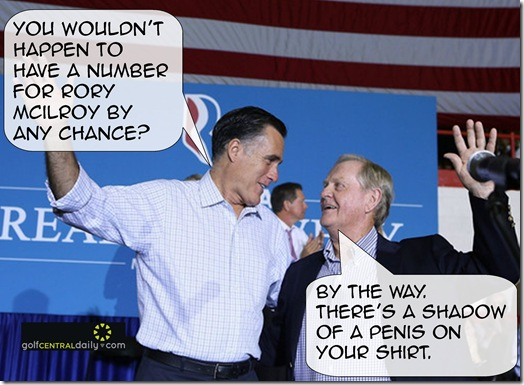 Romney Golf Election Funny