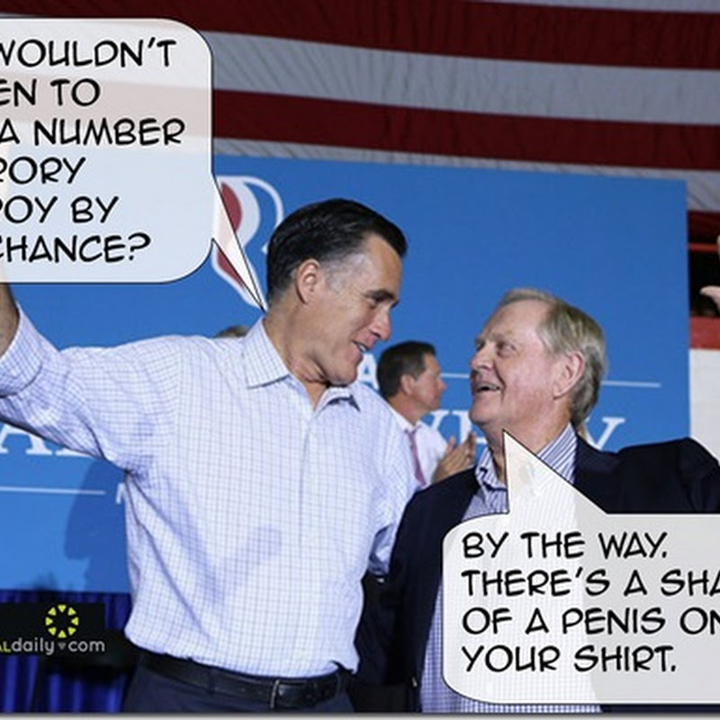 Obama Camp Hits Back With Romney Nicklaus Penis Jibe