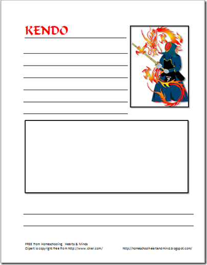 kendo notebook page wide lines