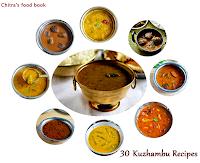 South Indian Kuzhambu recipes