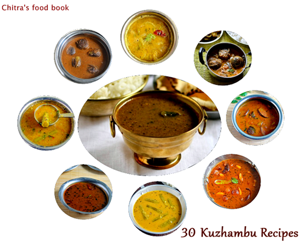 30 kuzhambu recipes