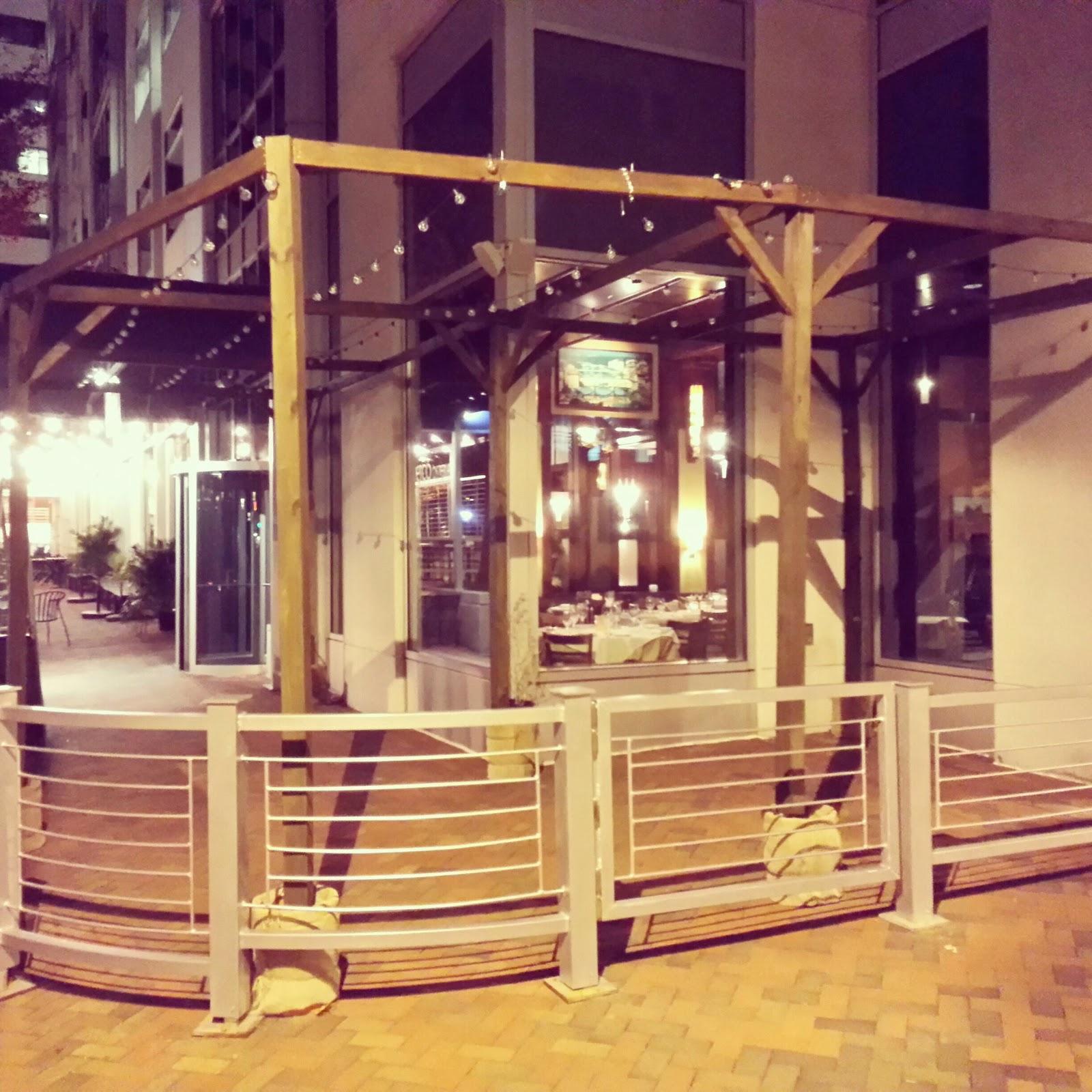 Garden La Piazza: Robert Dyer @ Bethesda Row: LA PIAZZA BEER GARDEN MOVES