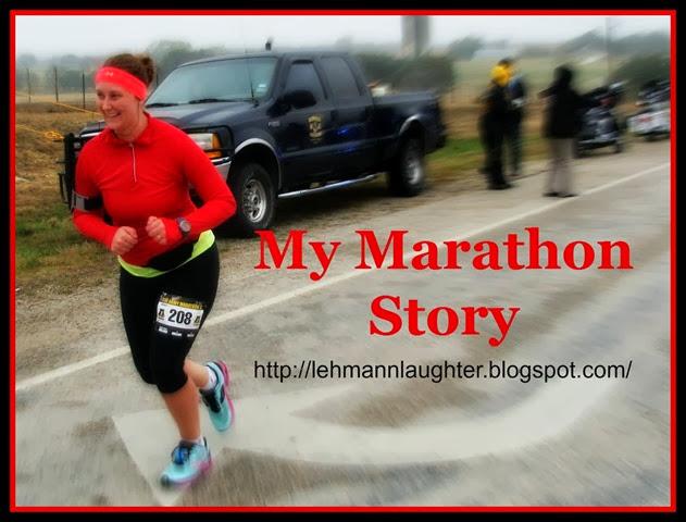 My Marathon Story