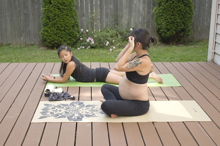 yoga with T