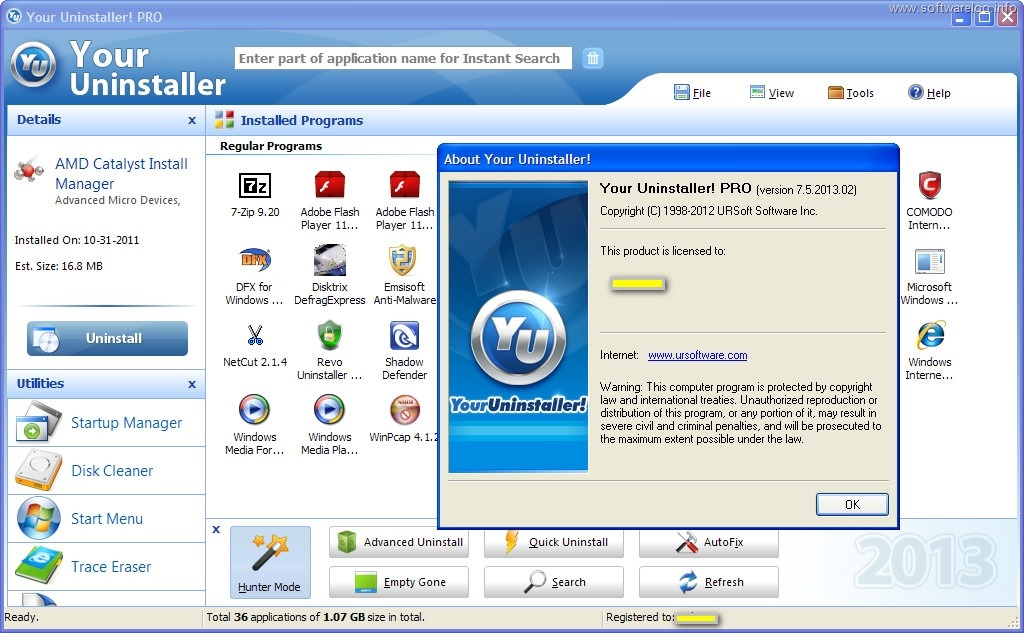 Special Uninstaller 3031158 Crack Full Version Free
