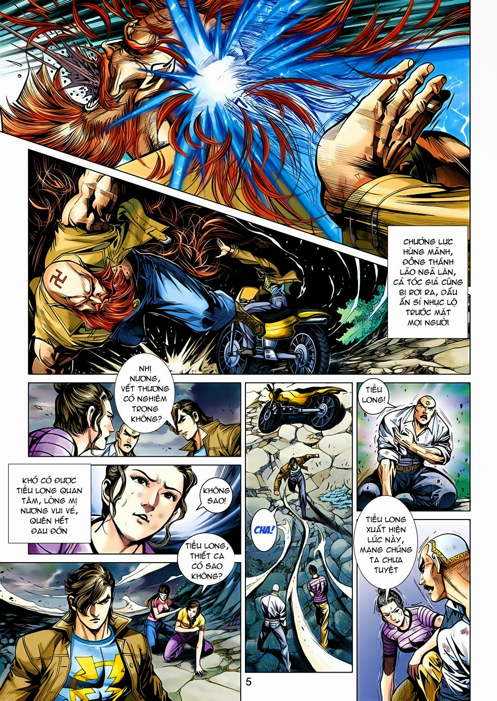 Tân Tác Long Hổ Môn chap 470 - Trang 5