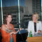 Amy Grant and Shauna Lake&#xA;at VIP Reception