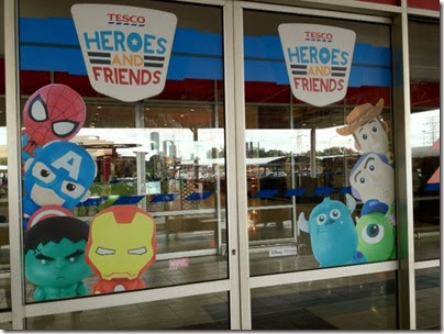 Tesco Heroes and Friends 01