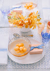 Special Series: Cornflower and Melon, Setting the Table