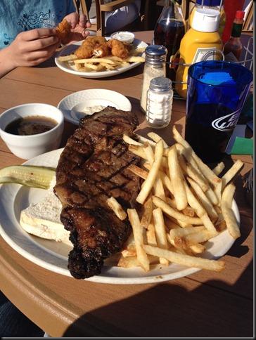 Gayle's prime rib sandwhich
