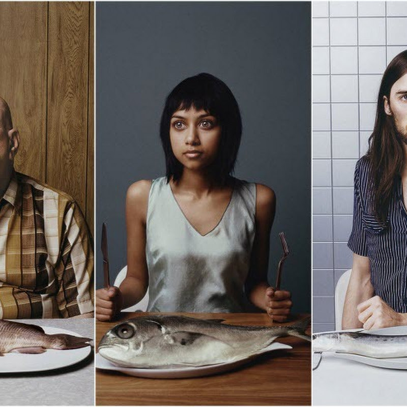Ted Sabarese's Photos of People And The Fish They Look Like