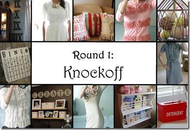 Round 1 button