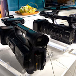 giant HD cameras by SONY - hardcore equipment in Ginza, Tokyo, Japan