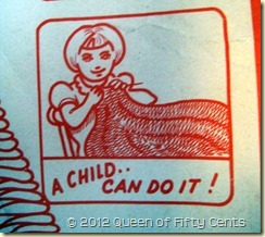 So easy a child can do it!