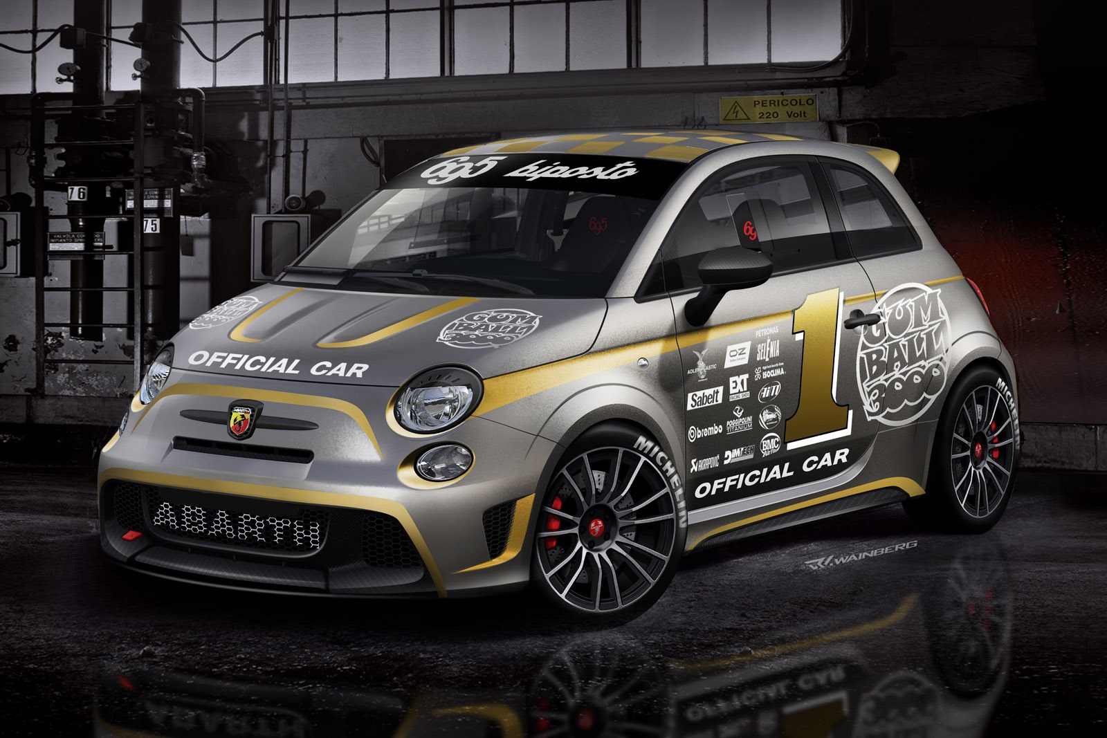 [Fiat] 500 Abarth - Page 13 Abarth-695-Biposto-Gumball-official-car-4%25255B4%25255D