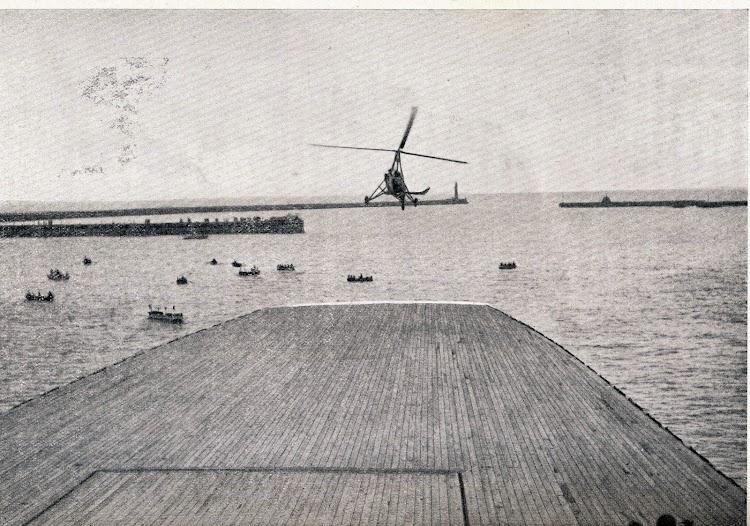 Otra vista de la aproximación. De la Revista General de Marina. Abril de 1.934. Foto Vidal.JPG