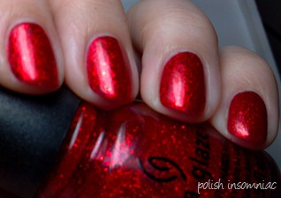 China Glaze Ring In the Red 2
