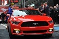 The all-new Ford Mustang is revealed in Times Square, New York, Dec. 5, 2013