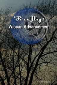 Cover of Iris Firemoon's Book Firefly Wiccan Advancement