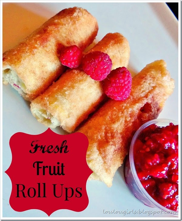 fresh fruit roll ups