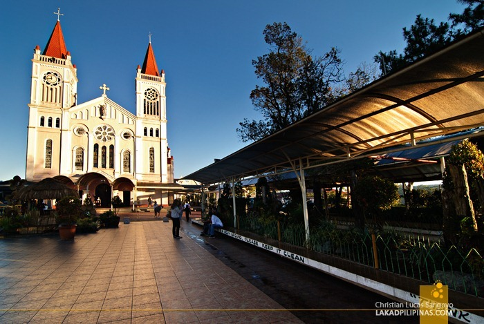 The Plaza in Front of Baguio Cathedral