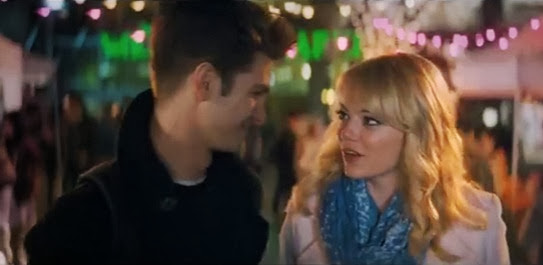 Spiderman 2 andrew garfield emma stone
