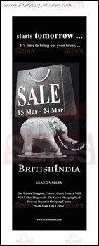 BritishIndia Sale 2013 Branded Shopping Save Money EverydayOnSales