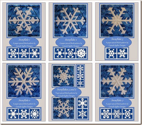 Snowflake series covers