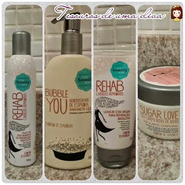 The beauty box - Bubble You, Sugar Love e Rehab