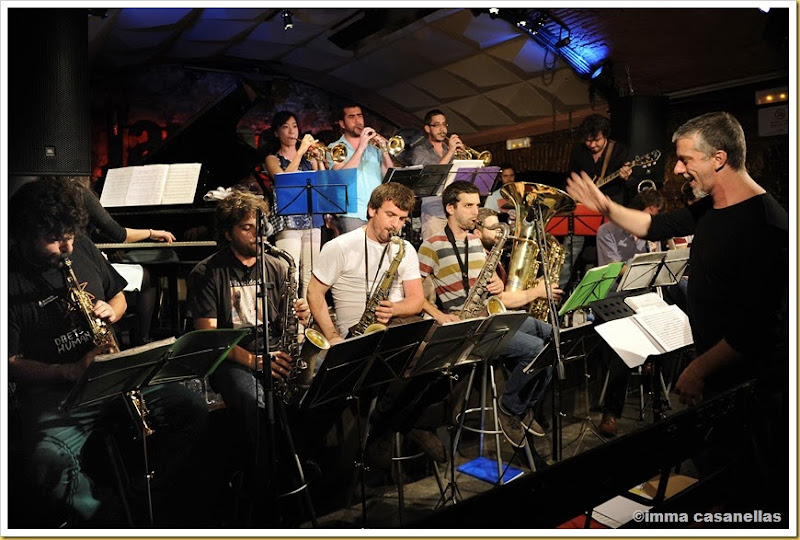 David Mengual Free Spirits Big Band, Barcelona 2013