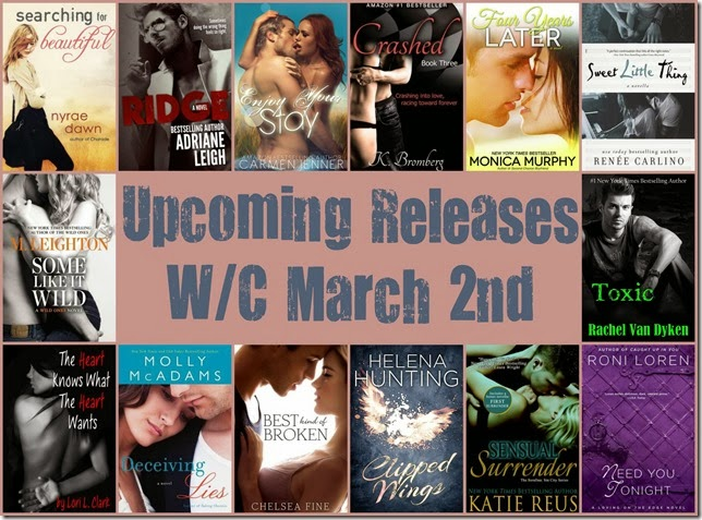 upcoming releases march 2nd