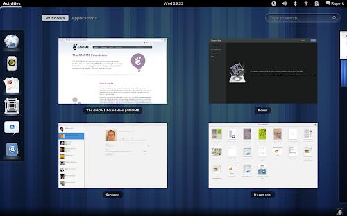 Ubuntu 12.10 avrà anche un'ISO con Gnome Shell