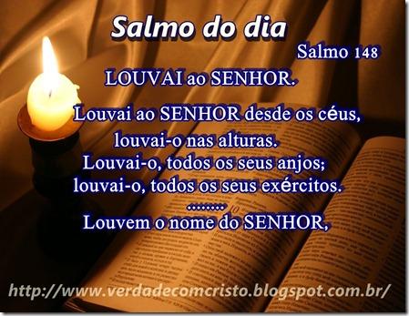 SALMO DO DIA 148