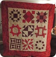 132.Verna's quilt