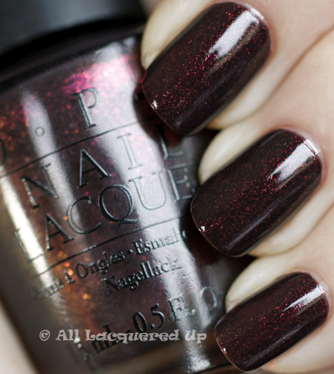 opi tease y does it swatch burlesque holiday 2010 OPI Burlesque Collection for Holiday 2010 Swatches, Review & Comparisons