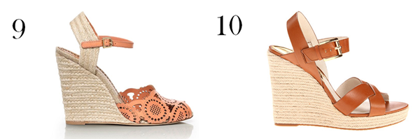 LDV Top 10: Wedge Sandals