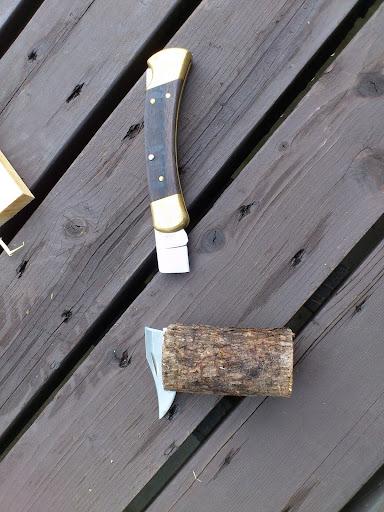 折れたナイフ