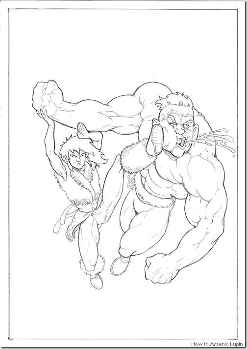Kyro vs Jorg, Autor: Jorge Villena