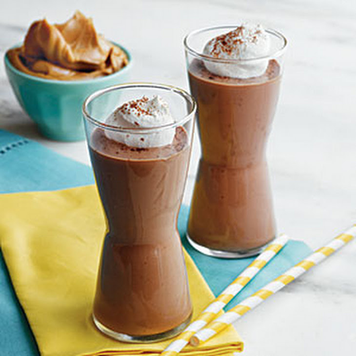 Peanut Butter, Banana, and Chocolate Smoothies Recipe | Yummly