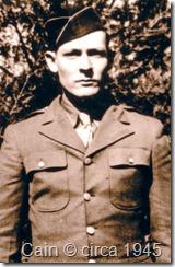 Cain, Odis 1945