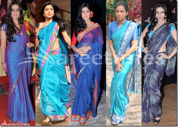 Blue_Latest_Sarees