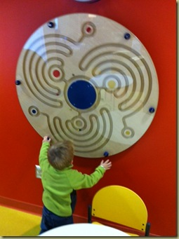 playing at clinic