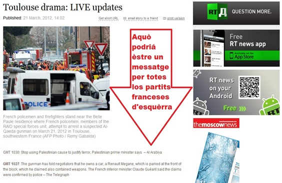 Tolosa drama RT news