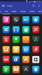 Vexer - Icon Pack