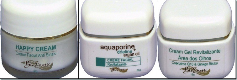 Creme facial anti-sinais-Bio Exotic