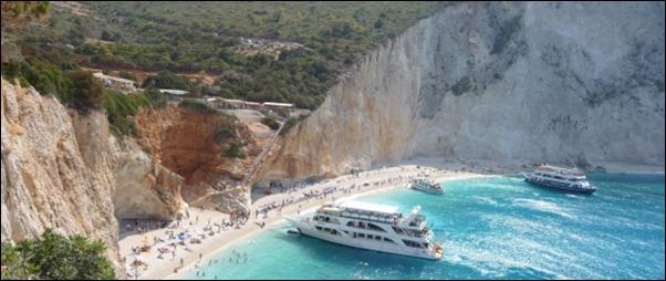 شواطئ اليونان